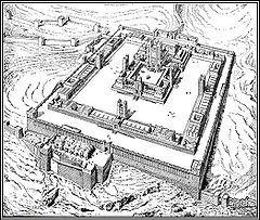 エルサレム神殿(19世紀に作成された想像復元図).jpg
